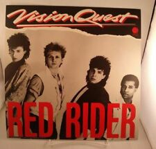 "Red Rider Vision Quest record store Promo poster flat 12""X12"" 1985 Wb Geffen"