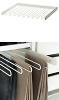 NEW IKEA Komplement Pull-out Trouser Hanger White Or Gray for Pants organizer