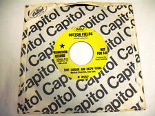 """TONY SANDLER AND RALPH YOUNG  Cotton Fields 7"""" Promo"""