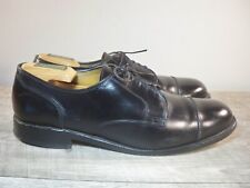 Allen Edmonds Fairgate Cap Toe Lace Up Black Leather Dress Oxfords Shoes Men 9.5