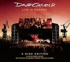 DAVID GILMOUR (2 CD + 2 DVD) LIVE IN GDANSK - 4 Disc Edition (PINK FLOYD) *NEW*