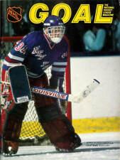 Oct. 11, 1986 Pittsburgh Penguins vs. New York Rangers Game Program Vintage Rare
