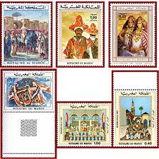 Maroc, Art, peinture, tableau, paintings, lot neuf ** MNH