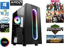 Gaming Computer PC AMD Ryzen 3100, 16GB RAM, 240GB SSD, gtx 1050ti