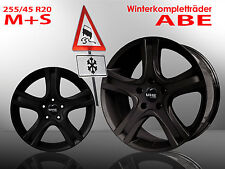 Amarus Winterräder 20 Zoll Mercedes ML 164 166 GLE + 255/45 R20 M+S Winter 21 22