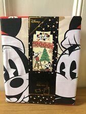 Disney Mickey & Minnie Christmas Single Duvet Cover Set With One Pillowcase