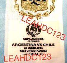 Copa America Centenario 2016 Final Match Details 100% AUTHENTIC
