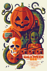 Halloween 3 Screen Print Movie Poster #110/135 Tom Whalen Bottleneck NYCC 2019
