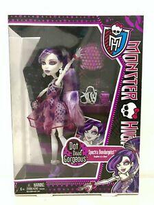 Monster High Spectra Vondergeist Dot Dead Gorgeous Doll Mattel BNIB
