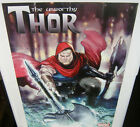 The Unworthy Thor Exclusive Large Promo Poster NEW MARVEL COMICS 2016 AVENGERS