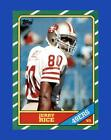 1986 Topps Set Break #161 Jerry Rice NR-MINT *GMCARDS*
