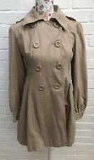 Atmosphere Coat Beige Light Brown Size 10 38 Mac Formal Work School Jacket