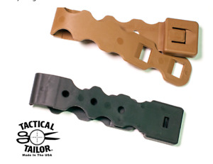 X2 Tactical Tailor Malice Clips  Lightweight Versions - Black & Tan Molle System