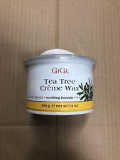 GIGI Tea Tree Creme Wax 14 oz Brand New
