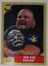 Bam Bam Bigelow WWE 2008 Topps Chrome Heritage III 3 Card #80 Wrestling Legend