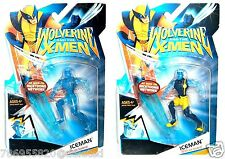 Wolverine X-Men Iceman Clear Drake Phasing Variant Set!