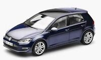 NOREV VW GOLF Mk.7 diecast model road cars Tungsten silver Night blue GTi 1:18th