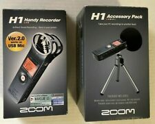 ZOOM H1 Handy Recorder Ver.2.0 &  H1 Accessory Pack COMBO Never Used