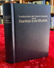 Spanish New World Translation Holy Scriptures Jehovah's Witness Bible