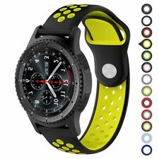 20mm 22mm Silicone Sport Watch Band Strap For Pebble Time 2 Samsung Gear S2 S3