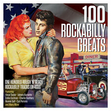 100 Rockabilly Greats VARIOUS ARTISTS Best Of 100 Songs ESSENTIAL MUSIC New 4 CD