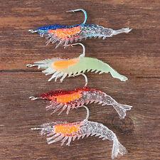 La pesca de Camarones Camarones gancho cebo de pesca Señuelo suave
