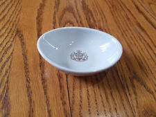 """Vintage Small """"Splendid For Ever"""" Coat of Arms Dish Tray Jean Luce Paris France"""