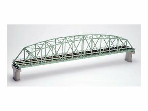 TOMIX N gauge 3222 double track song chord large truss iron bridge Japan