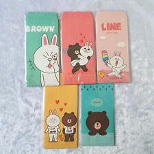 5 pcs/Set Cartoon Animals Envelopes Set Paper Colorful Letter Card Stationery