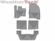 WeatherTech All-Weather Floor Mats - Ford Flex - 2011-2016 - Grey