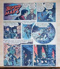 Beyond Mars by Jack Williamson - scarce full tab Sunday comic page Oct. 26, 1952