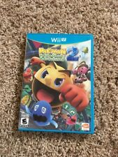 Pac-Man and the Ghostly Adventures 2 (Nintendo Wii U, 2014) Complete