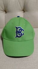 Brooklyn Cyclones NEON GREEN & BLUE BC BASEBALL HAT BALL CAP 2017 NY Mets