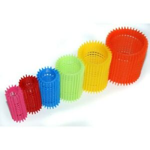 Grip Hair Rollers W/ Pins - Range of sizes and Quantities