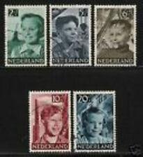 Nederland 573-577 Kinderzegels  1951 luxe gestempeld/USED