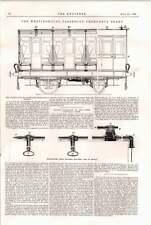 1898 Westinghouse Passenger Emergency Brake Railway Extension North Cornwall