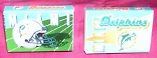 MIAMI DOLPHINS--2 BOXES OF MATCHES--NFL STRIPES--L@@K
