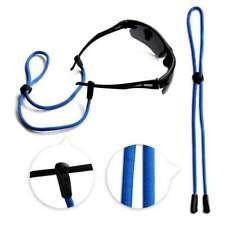 Eyeglass Spectacles Sports Strap Chain Cord Holder Lanyard 60cm Nylon Blue OB