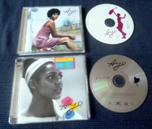 2 CDs Ayo - Joyful 2005 & Gravity At Last (2008) Frechen German Soul Folk Pop