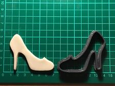 Cinderella disney shoe princess Plastic Cookie Cutter Fondant Decorating Cupcake