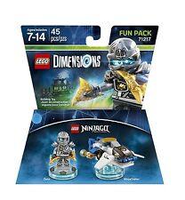LEGO Dimensions Fun Pack - Ninjago - Zane and Ninja Copter