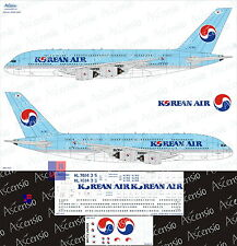 "1/144. Airbus A-380-800 ""Korean Air"", decals by ""Ascensio"" 380-003"
