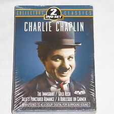 NEW Sealed Charlie Chaplin 2 DVD Collector's Classics 4 Great Movies