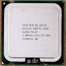 Intel Core 2 Quad Q9650 3GHz LGA775 SLB8W 4-Core FSB1333 45nm Processor Tested