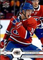 2019-20 Upper Deck #48 Jesperi Kotkaniemi Montreal Canadiens