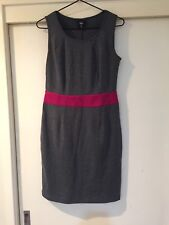 Mossimo Ladies Dark Grey Business Wear Dress Size S Good Condition