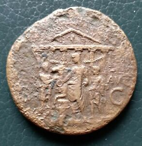 Caligula sestertius, g26,30 mm36