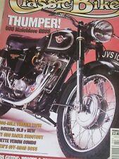 Classic Bike 02/94Matchless G80S,BMW R1100RS/ R100S,500K on a Vincent, Velocette