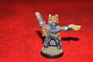 Warhammer Necromunda Adeptus Arbites Enforcer Champion (Metal) painted