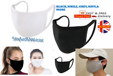 Face Mask Washable Cover Shield Breathable Reusable Adult & Children Mix Col LOT